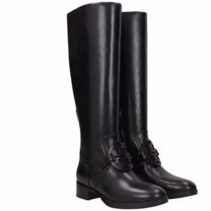 New Tory Burch Miller Black tall riding boots 6